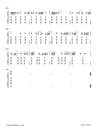 Hands of Love-Miley Cyrus-Numbered-Musical-Notation-Preview-3
