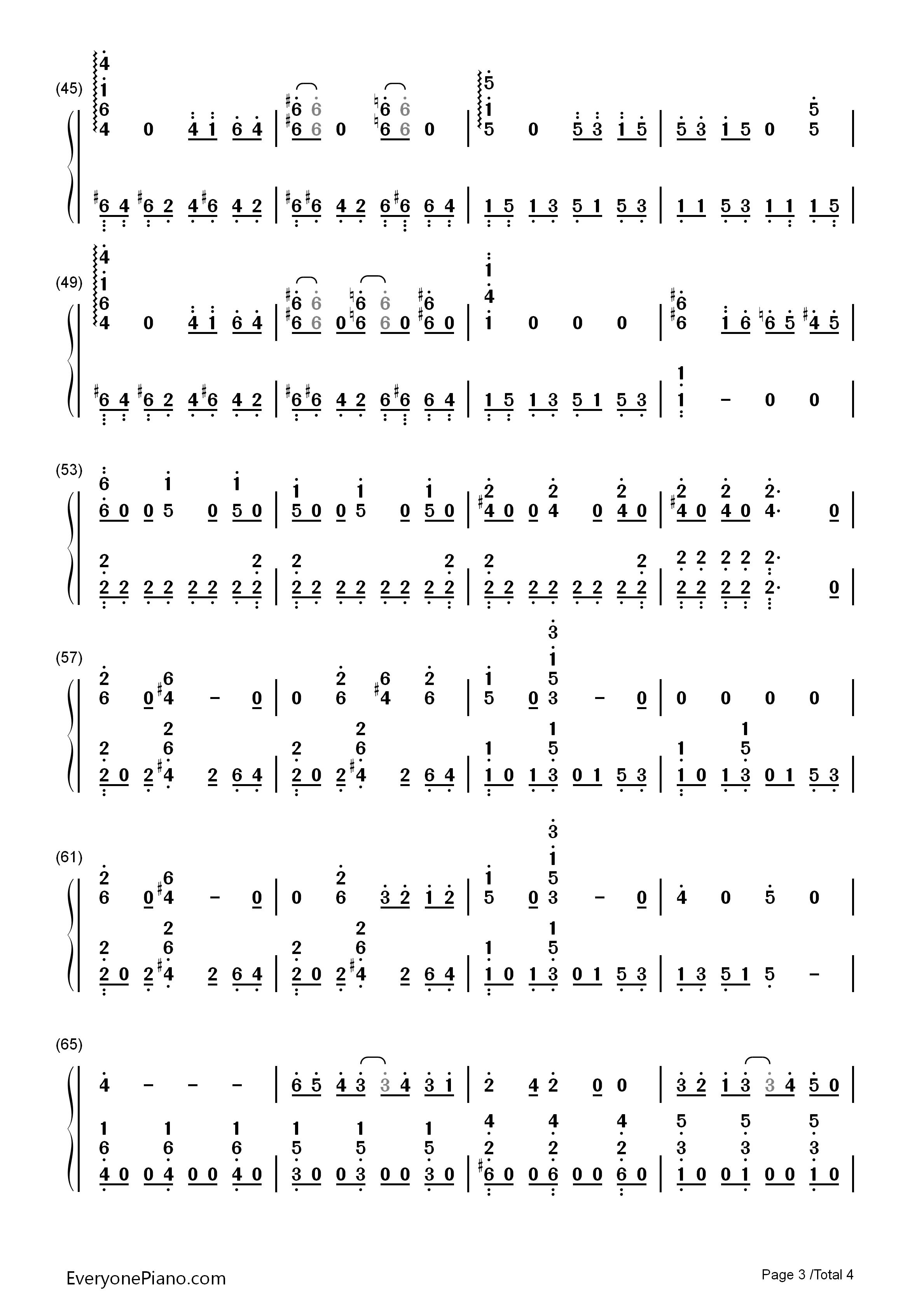 ... Musical Notation Preview 2-Free Piano Sheet Music & Piano Chords
