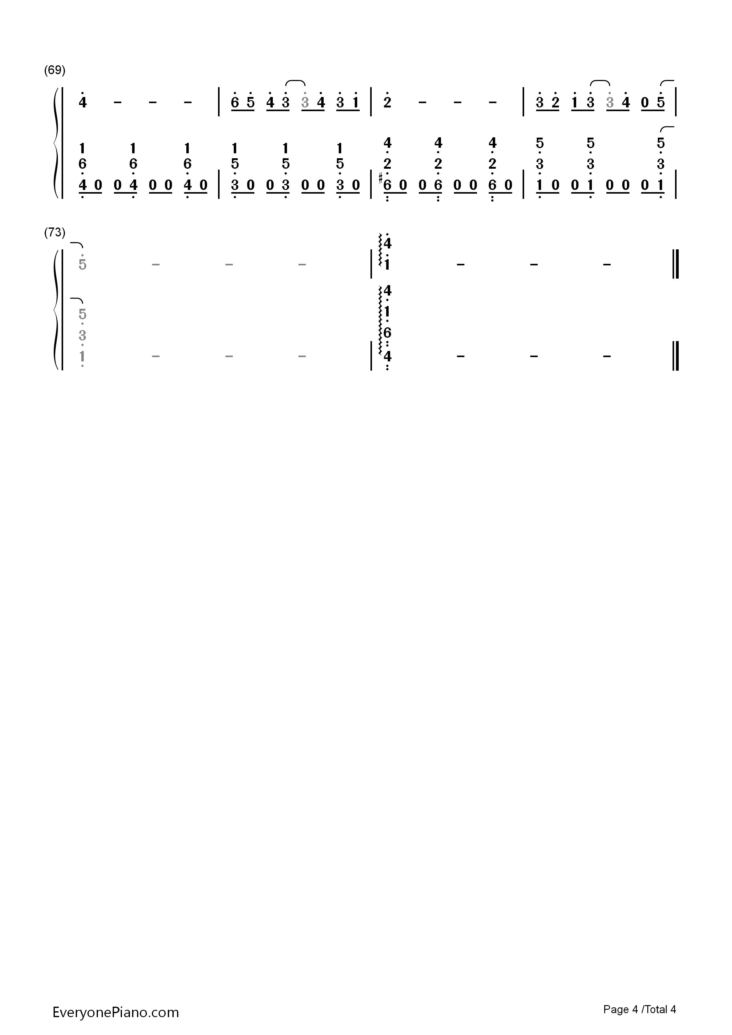 ... Musical Notation Preview 5-Free Piano Sheet Music & Piano Chords