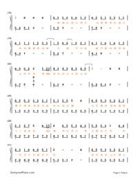 千年遊-《天天向上》之《中華文明之美》主題曲雙手簡譜預覽2