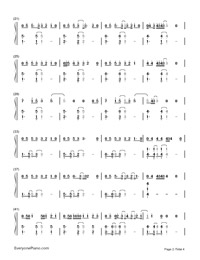 Say You Won't Let Go-James Arthur-Numbered-Musical-Notation-Preview-2
