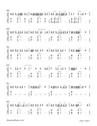 Say You Won't Let Go-James Arthur-Numbered-Musical-Notation-Preview-3