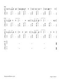 Say You Won't Let Go-James Arthur-Numbered-Musical-Notation-Preview-4