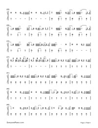 Still Falling for You-Bridget Jones's Baby theme song-Numbered-Musical-Notation-Preview-2