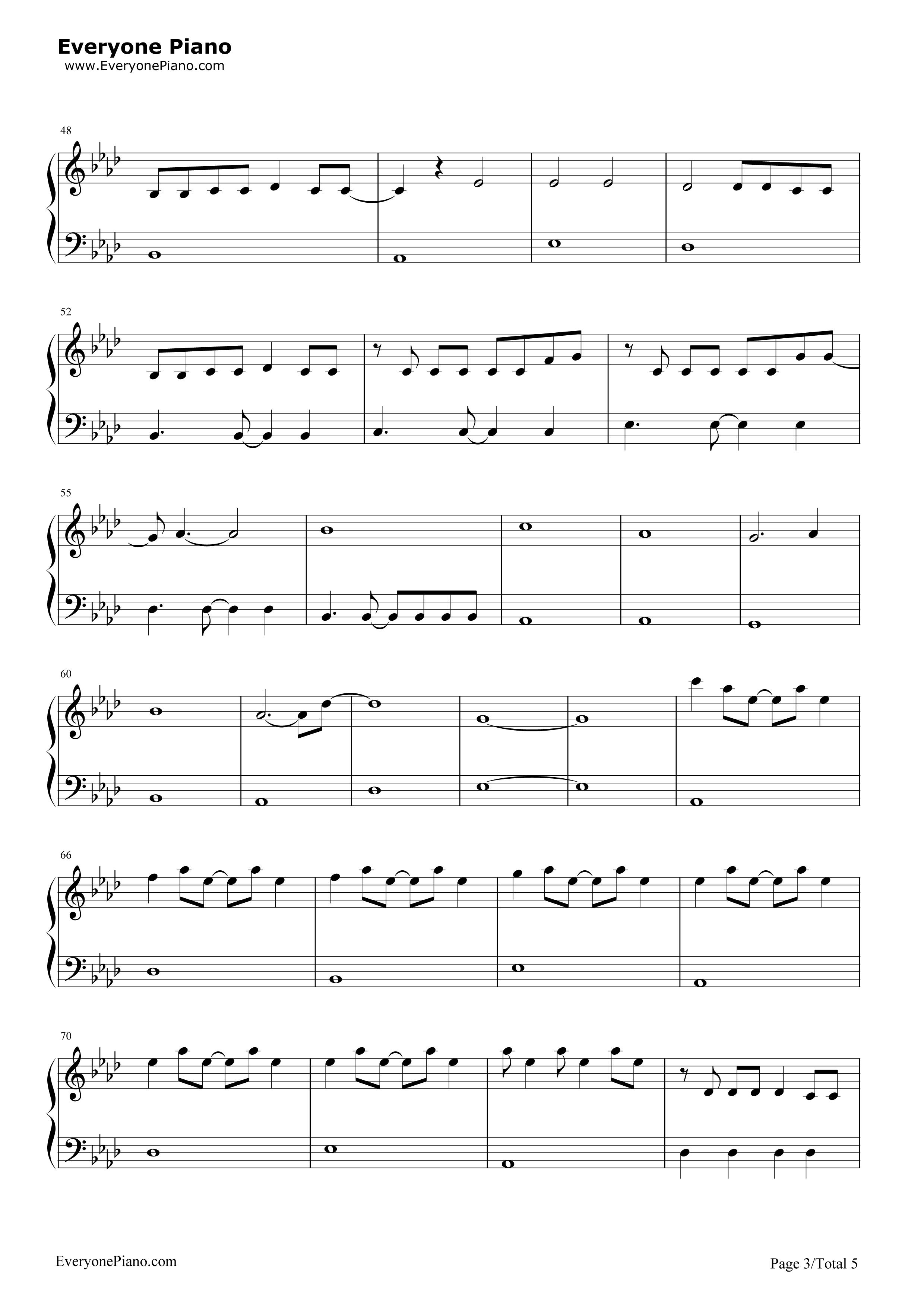 up theme piano sheet music