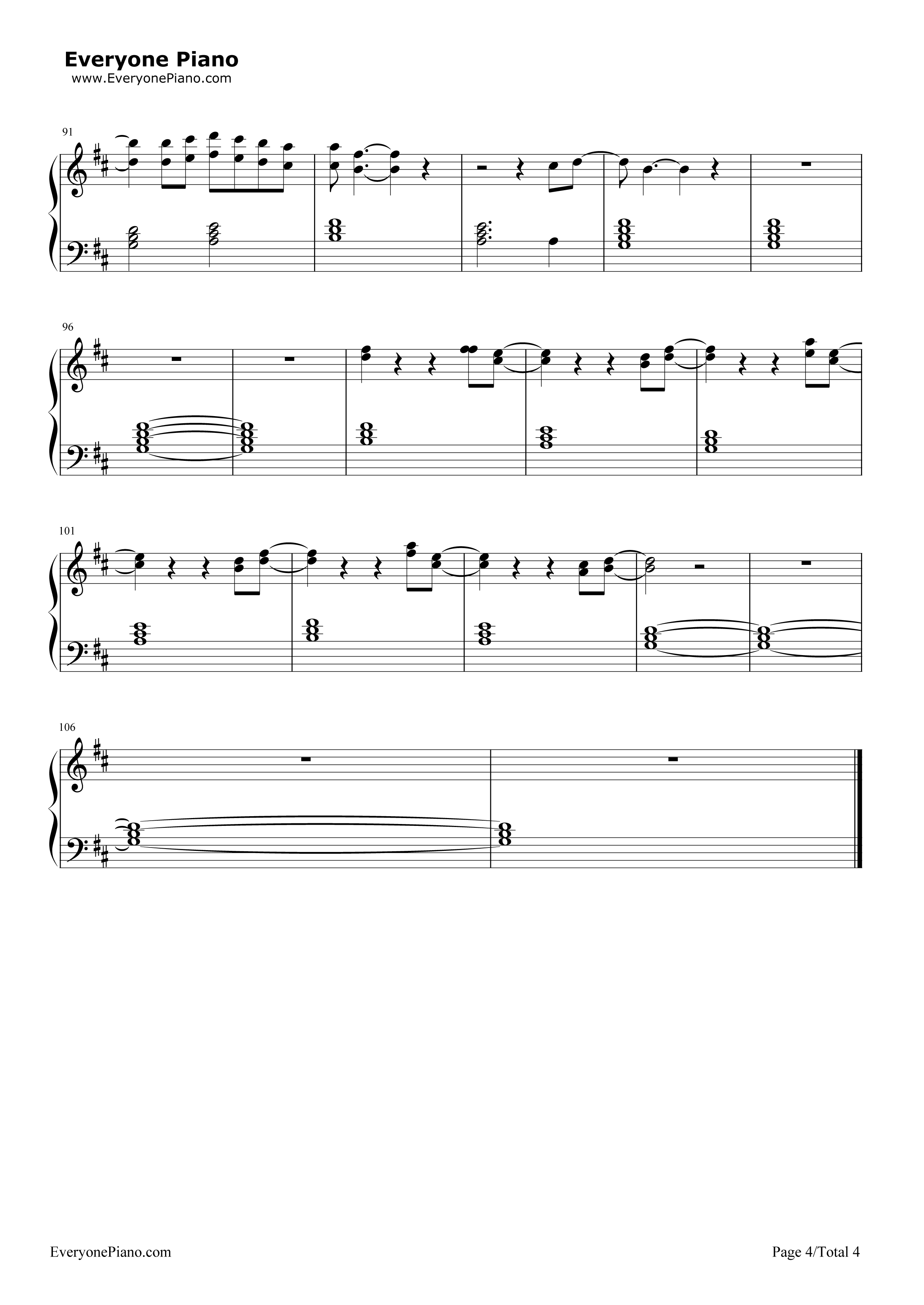 Six feet under (theme) sheet music to download.