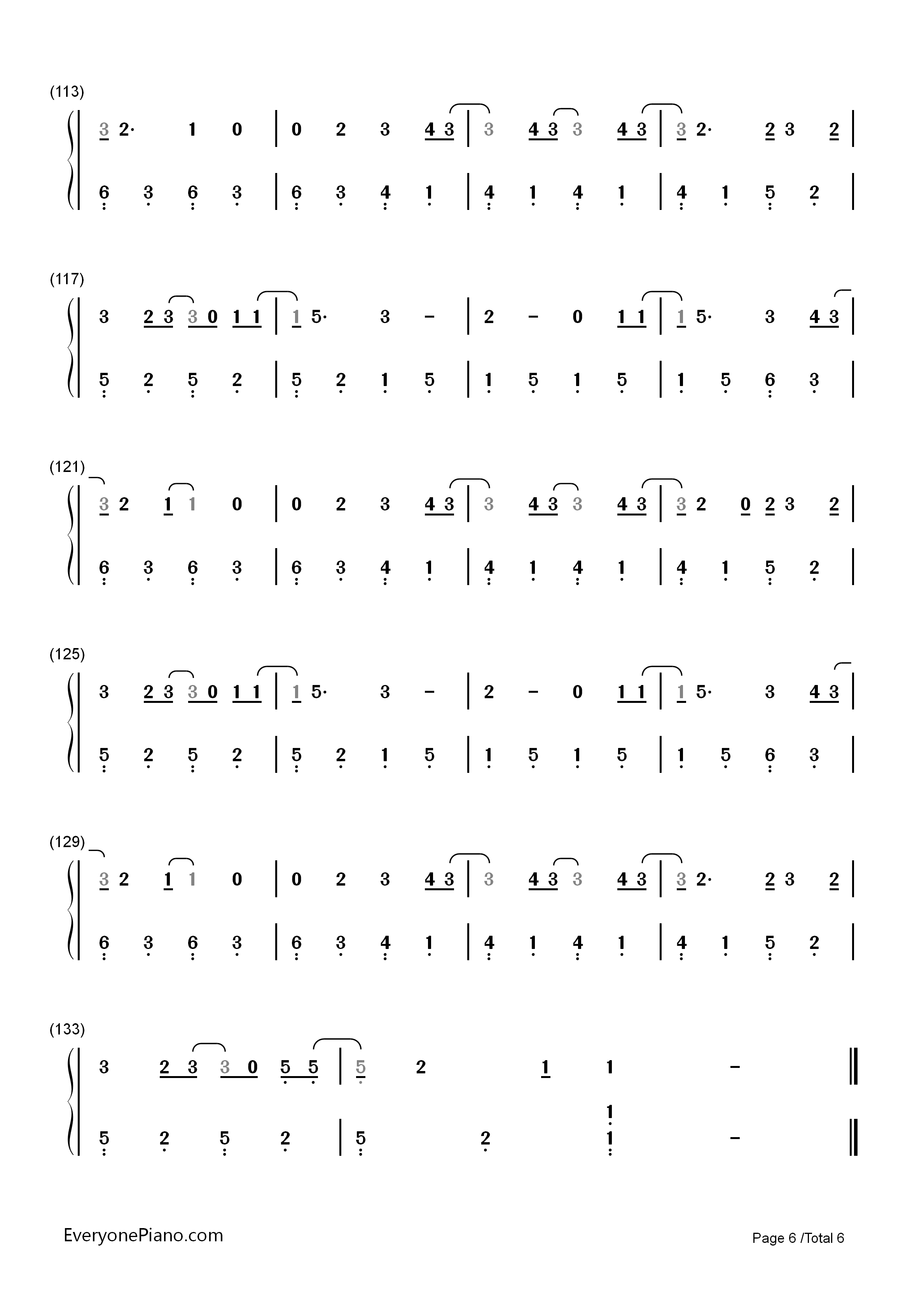 Still breathing green day numbered musical notation preview 6 listen now print sheet still breathing green day numbered musical notation preview 6 hexwebz Image collections