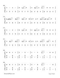 Still Breathing-Green Day-Numbered-Musical-Notation-Preview-4