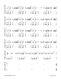 Don't Wanna Know-Maroon 5,Kendrick Lamar-Numbered-Musical-Notation-Preview-4