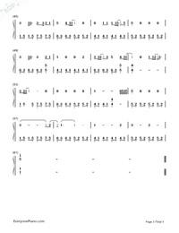 Green Day Ordinary World Free Piano Sheet Music Piano Chords