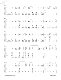 I Remember You-Tom Chaplin-Numbered-Musical-Notation-Preview-3