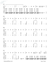 I Remember You-Tom Chaplin-Numbered-Musical-Notation-Preview-5