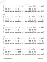 I Remember You-Tom Chaplin-Numbered-Musical-Notation-Preview-6