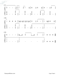 I Remember You-Tom Chaplin-Numbered-Musical-Notation-Preview-8