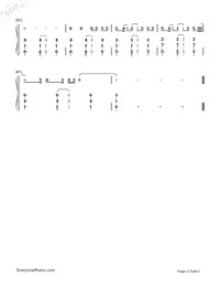 Better Way-Tom Chaplin Numbered Musical Notation Preview 4