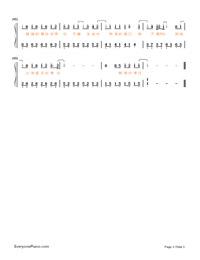 讓我留在你身邊-《擺渡人》愛情版主題曲雙手簡譜預覽3