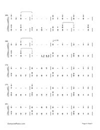 Natsu Matsuri-JITTERIN'JINN-Numbered-Musical-Notation-Preview-4