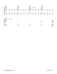 Natsu Matsuri-JITTERIN'JINN-Numbered-Musical-Notation-Preview-6