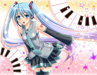 ReAct-Hatsune Miku,Kagamine Rin,Kagamine Len