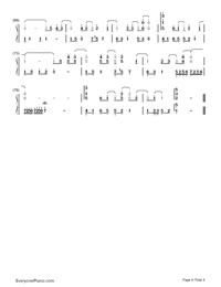 告白氣球-完美演奏版雙手簡譜預覽4