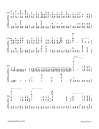 Days on the Beijing East Road-perfect version-Numbered-Musical-Notation-Preview-4