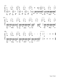 Sad memories-Ouyang Jiaming-Numbered-Musical-Notation-Preview-2