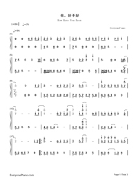 How Have You Been-Life List ED-Numbered-Musical-Notation-Preview-1