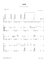 I Love Her-Bandari-Numbered-Musical-Notation-Preview-1