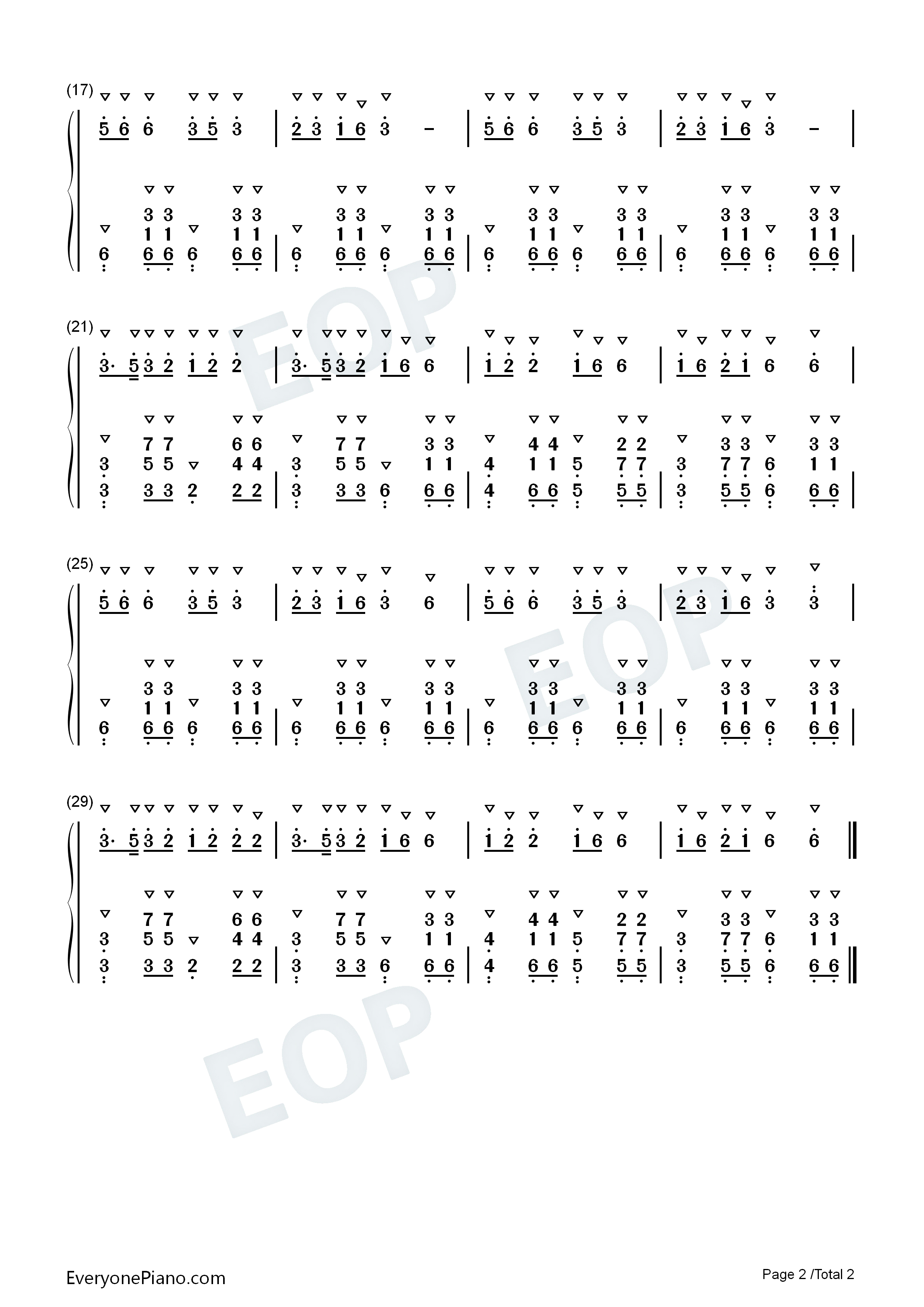 Old Driver Take Me With You-Yunnan folk song Numbered Musical Notation Preview 2