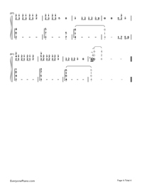 The Road of Regrets-Maple Story-Numbered-Musical-Notation-Preview-4
