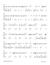 My Eyes-Guardian: The Lonely and Great God OST2-Numbered-Musical-Notation-Preview-2