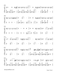 My Eyes-Guardian: The Lonely and Great God OST2-Numbered-Musical-Notation-Preview-3
