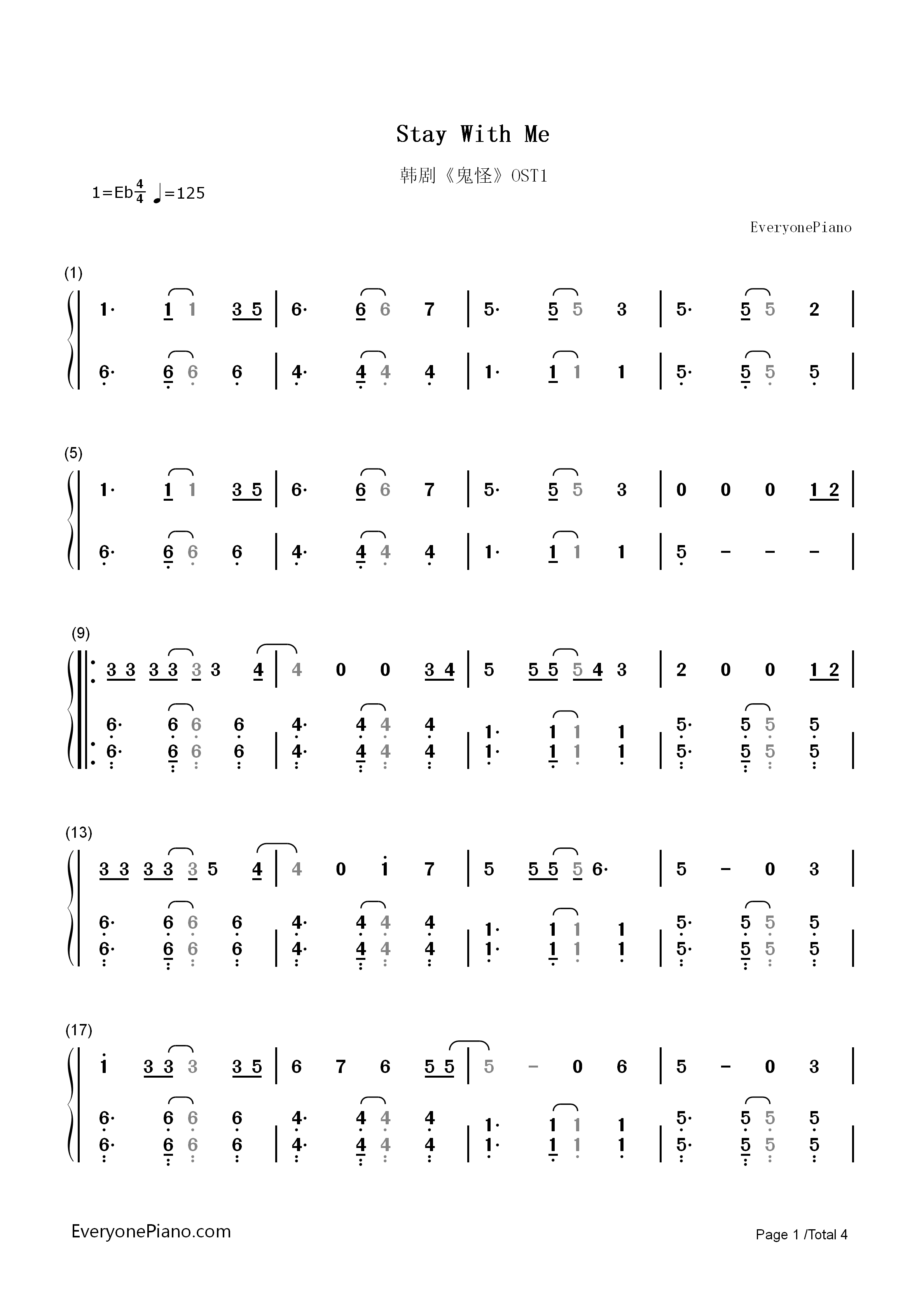 Piano chords for stay with me piano ideas stand by me sheet music for piano and more hexwebz Choice Image
