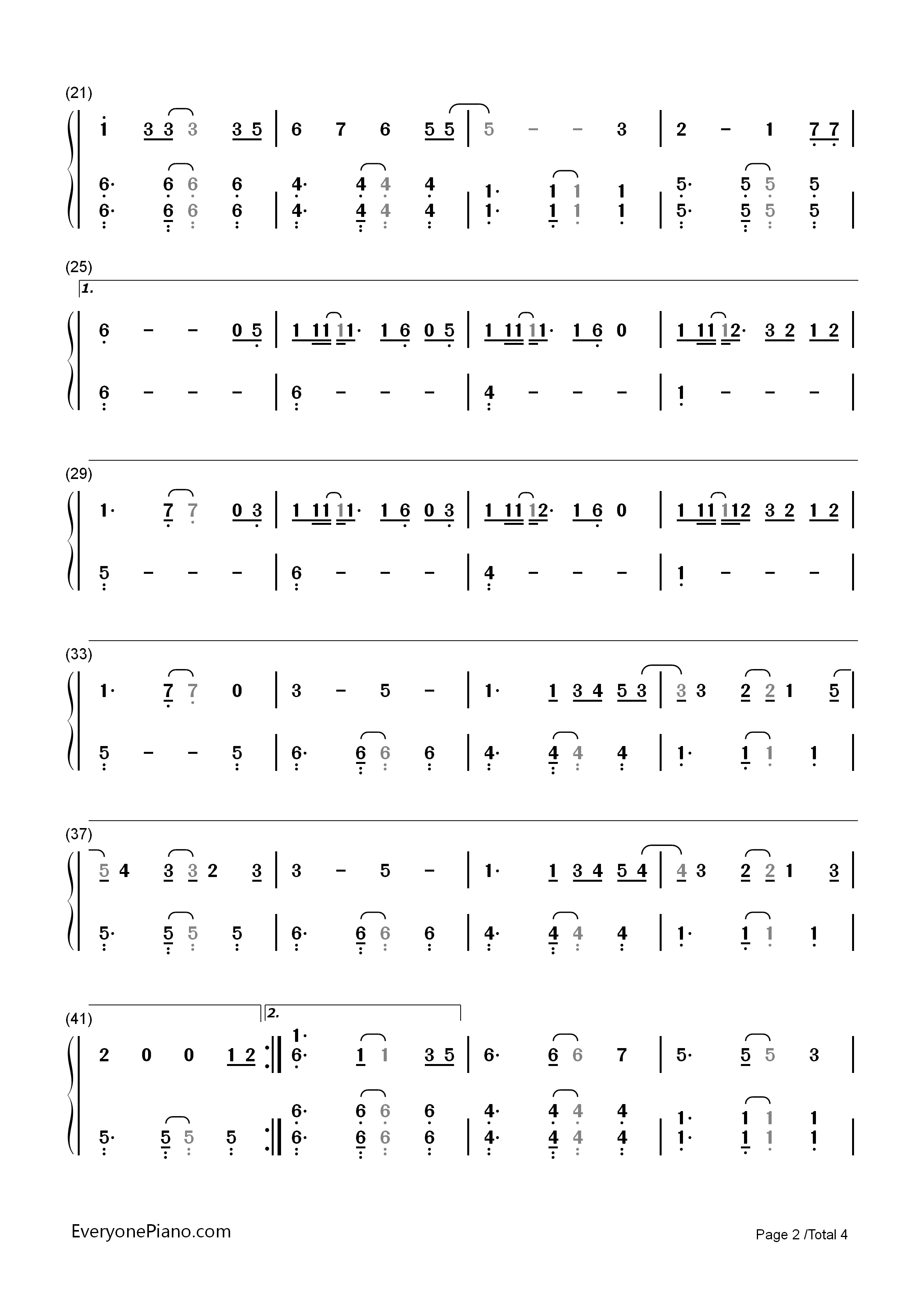 Stay with me guardian the lonely and great god ost1 numbered listen now print sheet stay with me guardian the lonely and great god ost1 numbered musical notation preview hexwebz Images