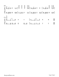 Nicotine-Panic at the Disco-Numbered-Musical-Notation-Preview-4