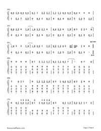 Never Grow Up-Taylor Swift-Numbered-Musical-Notation-Preview-3