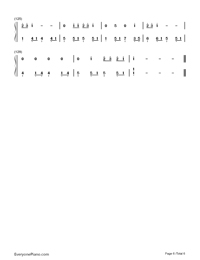Never Grow Up-Taylor Swift-Numbered-Musical-Notation-Preview-6