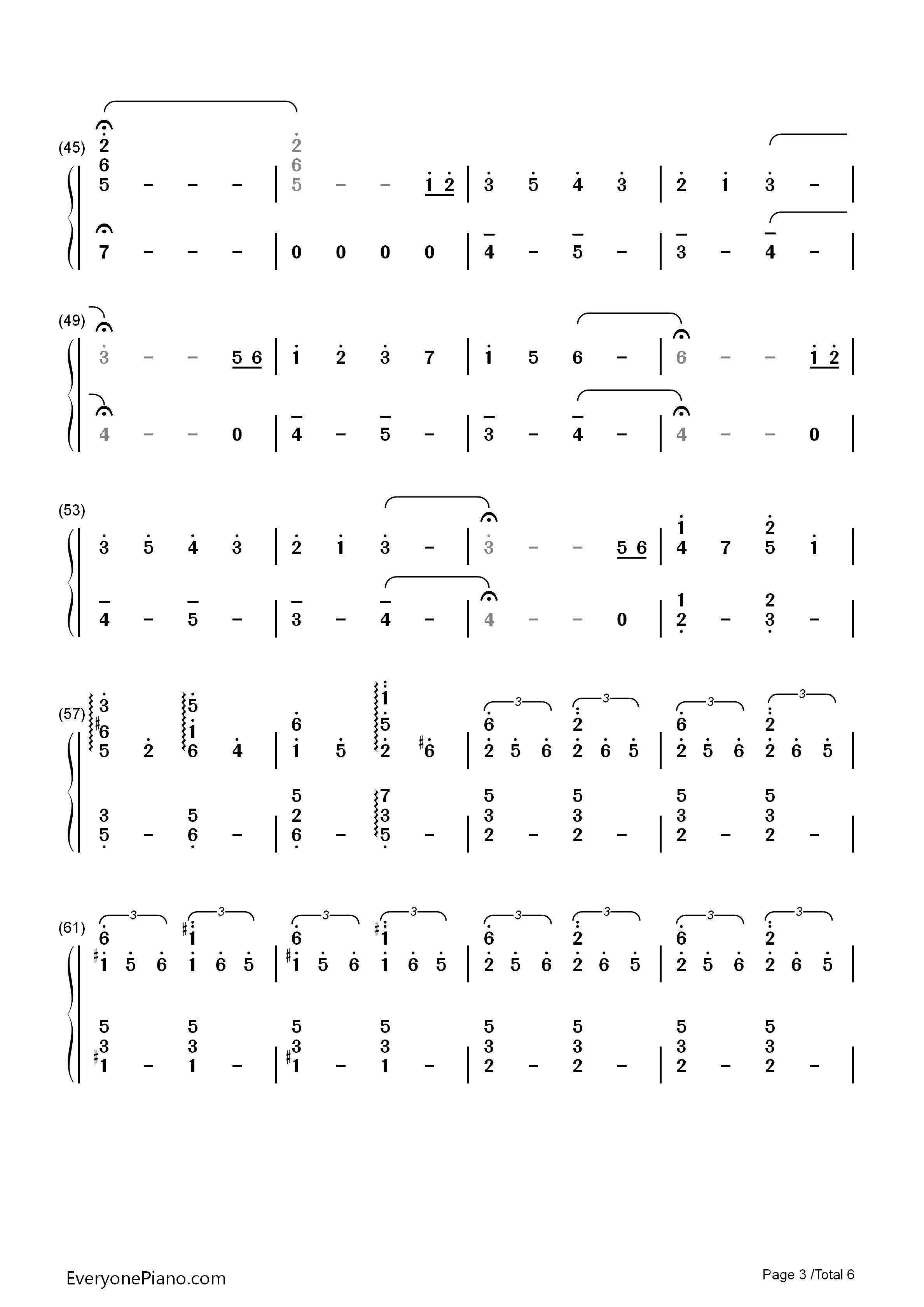 nandemonaiya sheet music