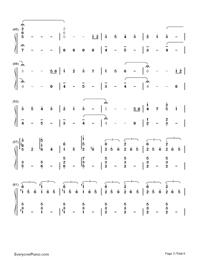 Nandemonaiya--Your Name-Mitsuha's Theme-Numbered-Musical-Notation-Preview-3