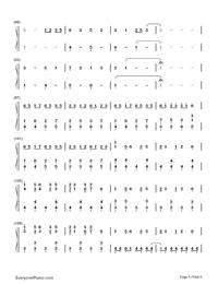 Nandemonaiya--Your Name-Mitsuha's Theme-Numbered-Musical-Notation-Preview-5