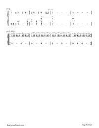 Nandemonaiya--Your Name-Mitsuha's Theme-Numbered-Musical-Notation-Preview-6