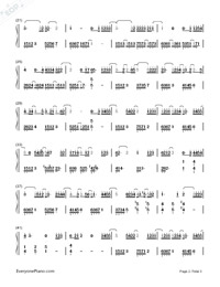 Beautiful-Guardian: The Lonely and Great God OST4-Numbered-Musical-Notation-Preview-2
