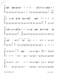 Hush-Guardian: The Lonely and Great God OST3-Numbered-Musical-Notation-Preview-2