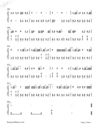 Hush-Guardian: The Lonely and Great God OST3-Numbered-Musical-Notation-Preview-3