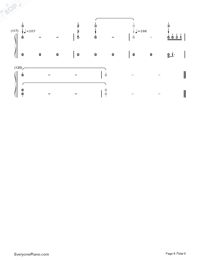 Carol Of The Bells-Mykola Leontovych-Numbered-Musical-Notation-Preview-6
