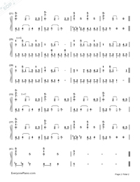 Lullaby-George Winston-Numbered-Musical-Notation-Preview-2