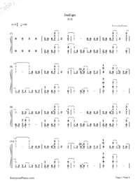 Indigo-Yiruma-Numbered-Musical-Notation-Preview-1