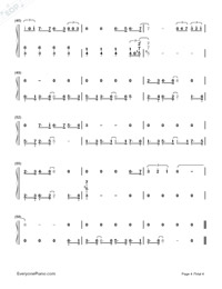 City of Stars-La La Land theme-Numbered-Musical-Notation-Preview-4