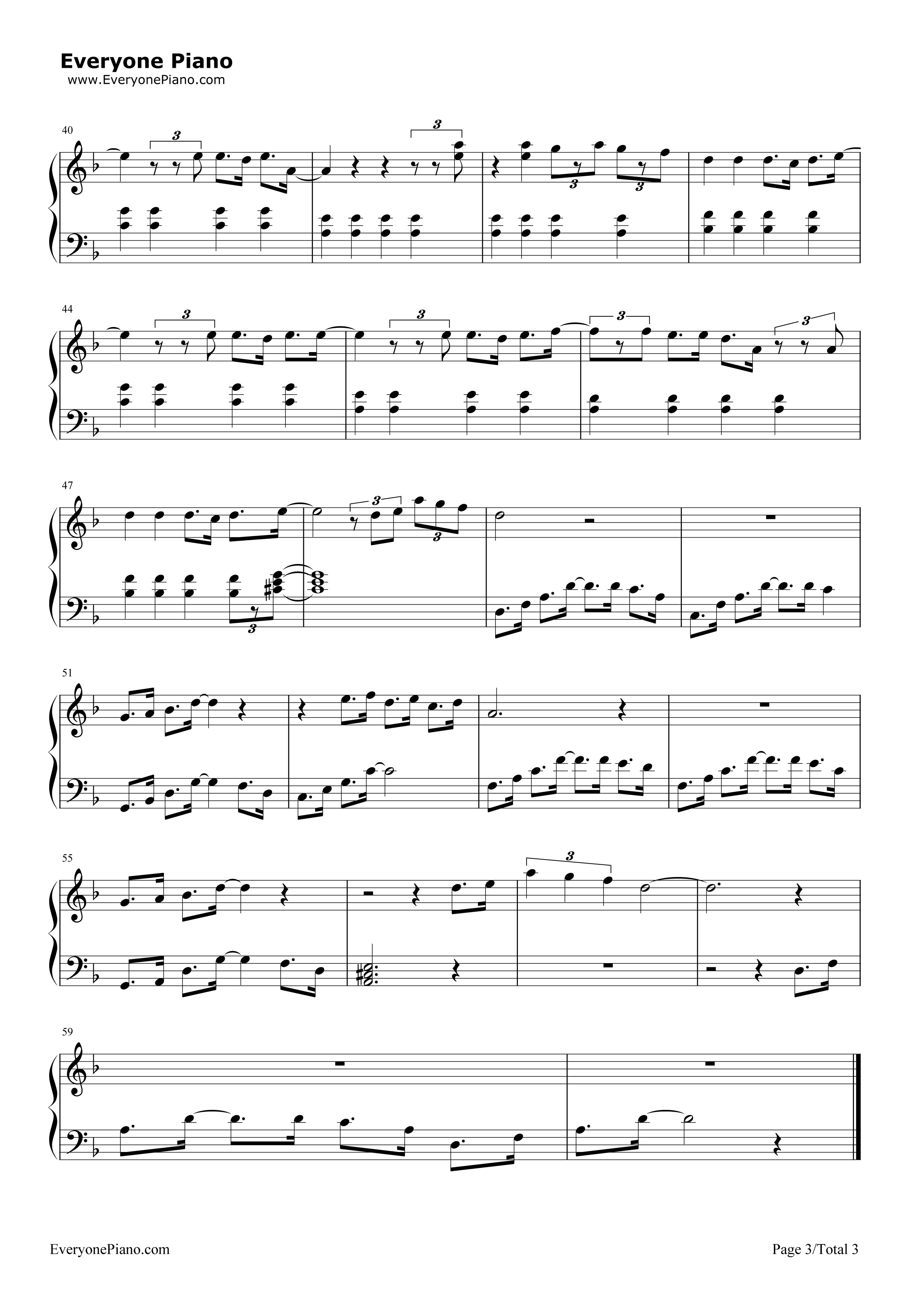 City of stars la la land theme stave preview 3 free piano sheet listen now print sheet city of stars la la land theme stave preview 3 hexwebz Image collections