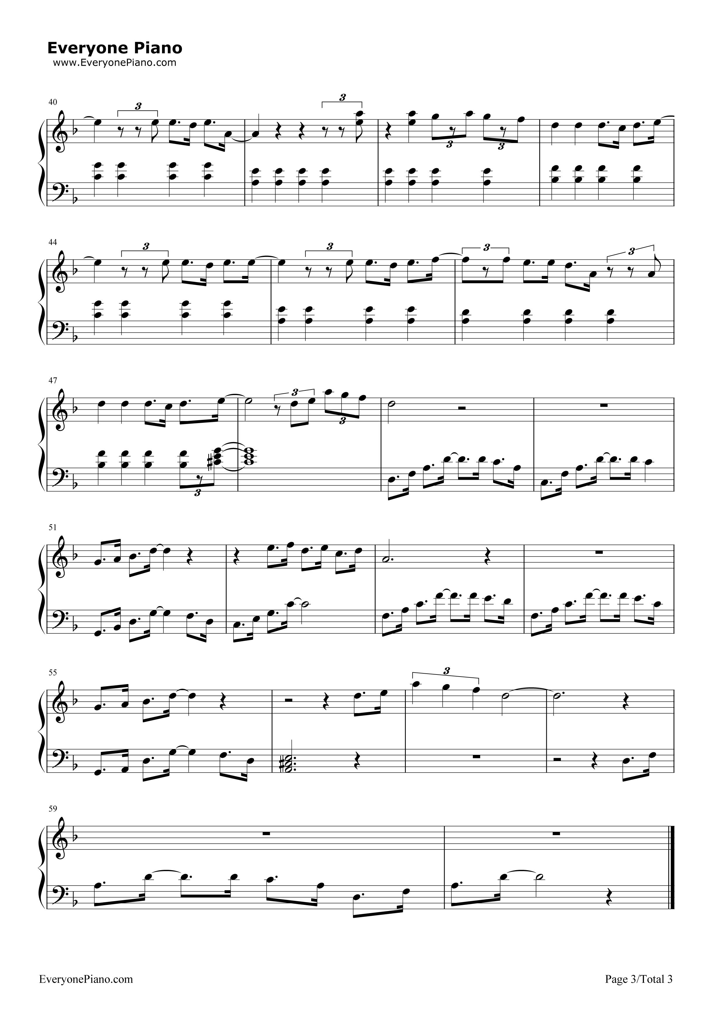 lalaland piano sheet music pdf